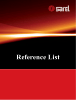 Reference List - EL