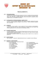 REGOLAMENTO - USD Casellina