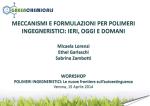 Meccanismi e formulazioni antifiamma per polimeri