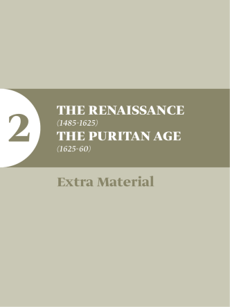 2 The Renaissance The PuRiTan age extra Material