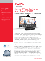 Sistema di Video Conferenza Avaya Scopia® XT5000