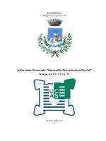 Ordine degli Studi - Università Civica Andrea Sacchi