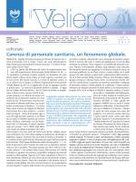 Carenza di personale sanitario, un fenomeno globale.