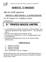 Giovedì 19 aprile - Unitre San Raffaele - Gassino