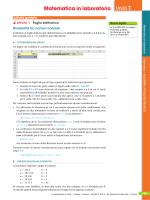Resto e algoritmo di Euclide con Excel