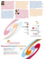 KonzertConzertConcerto - Institut für Musikerziehung in deutscher
