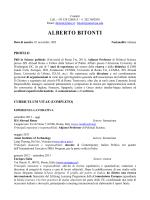 curriculum - Circolo PD Roma Trastevere