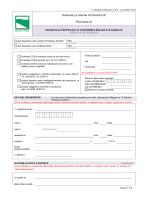 Modulo richiesta CCEA