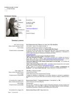 C.V. SerenaBonura - Università degli Studi di Messina