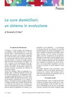 Le cure domiciliari - Collegio IP.AS.VI. di Brescia