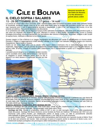 Cile e Bolivia 2505 set 2014 ANV