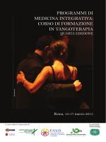 corso di formazione in tangoterapia