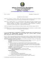 BANDO LABORATORIO TEATRALE