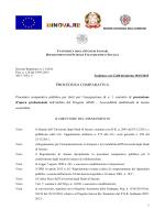 PROCEDURA COMPARATIVA - Università degli Studi di Sassari