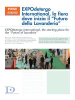 """EXPOdetergo International, la fiera dove inizia il """"Futuro della"""