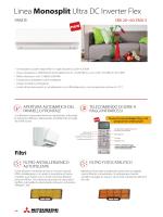 Linea Monosplit Ultra DC Inverter Flex