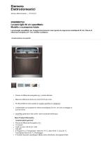 Prodotti - Lavastoviglie... - Incasso - SN65M087EU