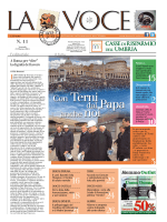 La Voce n.11 del 21 Marzo 2014