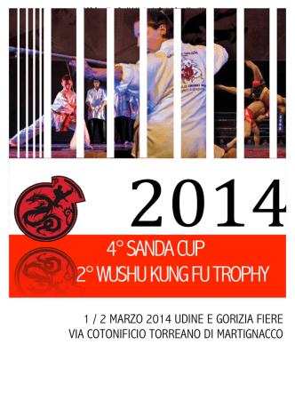 4° SANDA CUP 2° WUSHU KUNG FU TROPHY