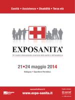 Depliant Exposanità 2014