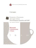 abstract totali per pdf - Istituto Italiano di Preistoria e Protostoria