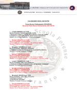Formazione - Ordine degli Avvocati di Taranto