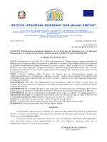 Avviso pubblicazione graduatorie definitivex