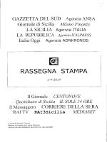 rassegna stampa del 01/04/2014 - Consorzio per le Autostrade