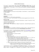 REGOLAMENTO (IG 60/14) del concorso a premi