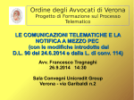 comunicazione - Ordine degli Avvocati di Verona