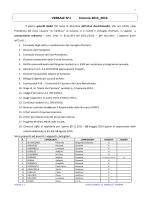 VERBALE N°1 triennio 2013_2016 - Liceo Classico Carducci Cassino