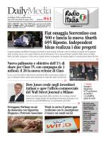 Fiat omaggia Sorrentino con 500 e lancia la nuova