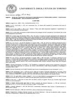 Bando di ammissione - Università degli Studi di Torino