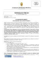 t.u. aua tarifa - Comune di Potenza Picena
