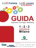 1 - 2 - 3 ottobre Milano