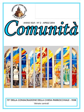 Comunità - aprile 2014 - OratorioCanegrate.it