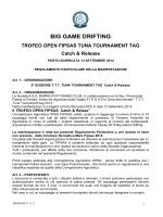 BIG GAME DRIFTING