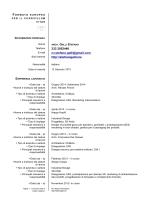 CV Portfolio di Stefano arch. Galli