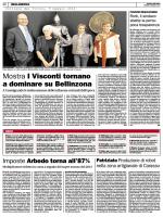 Mostra I Visconti tornano a dominare su Bellinzona