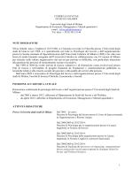 CURRICULUM VITAE – Silvia Gilardi - Università degli Studi di Milano