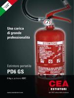 PD6 GS - Cea Estintori S.p.A.