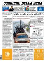 Corriere della sera - 01.12.2014