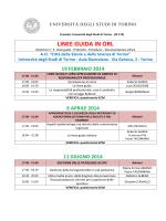 PROGRAMMA CORSO - Università degli Studi di Torino