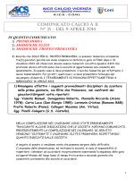comunicato calcio a 11 n° 35 – del 9 aprile 2014