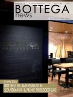 bottega ha inaugurato in scandinavia il primo prosecco bar
