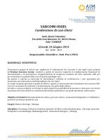 SARCOMI OSSEI: - Aim Education