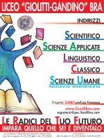 Liceo G. Giolitti - G. B. Gandino Bra - Orientamento