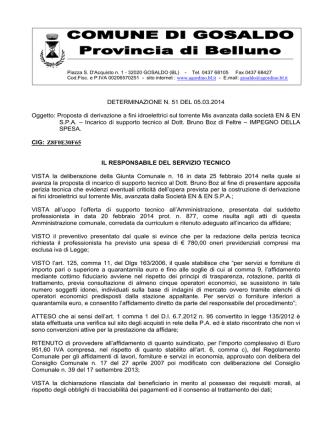 51Incarico supporto tecnico dott. Bruno Boz