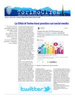 La Città di Torino best practice sui social media