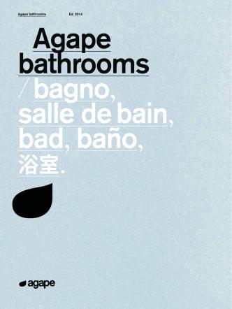 Agape bathrooms Ed. 2014